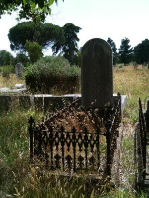 Thomas Dobie's Grave at Smythesdale General Cemetery, Victoria